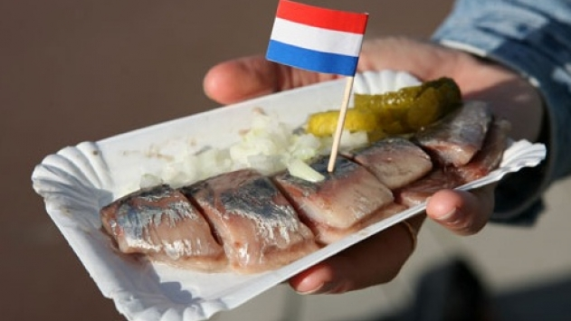 Weissbier is heerlijk bij Hollandse Nieuwe haring
