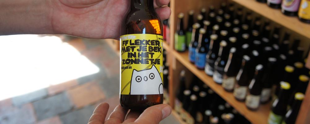 Bier voor bij de barbecue: ff lekker met je bek in het zonnetje